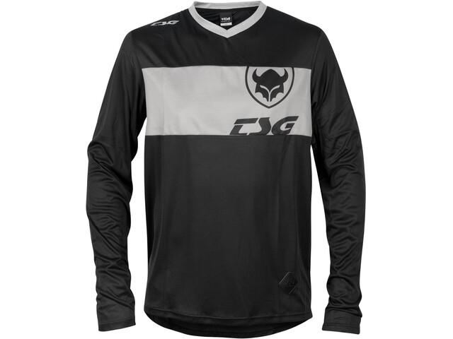 TSG Waft Longsleeve Jersey, negro/gris